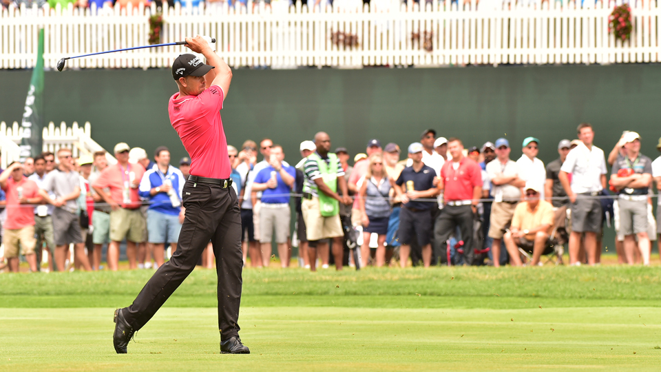 Widely known as one of the best ball-strikers on the planet, Henrik Stenson is using that to sit near the top of the leaderboard.