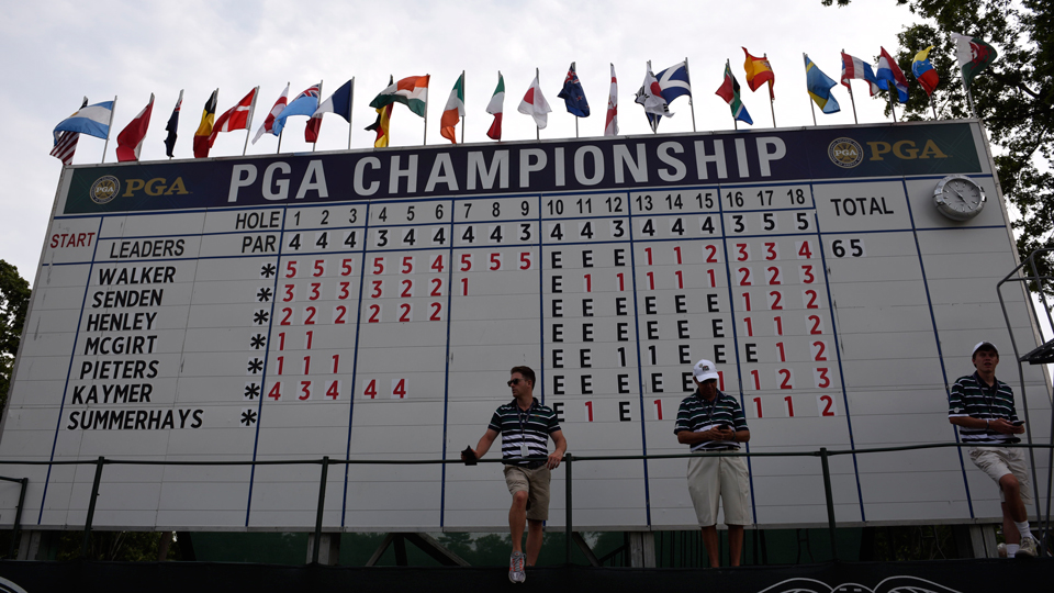 The 98th PGA Championship will continue Saturday, but might not get through the third round without thunderstorms and weather delays.