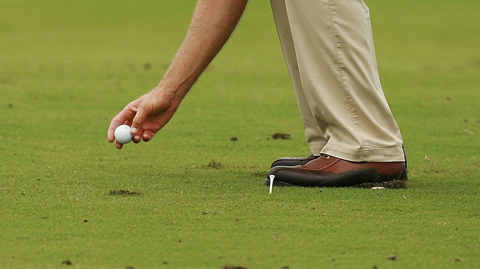 The lift, clean and place rule will be in effect for the final round of the 2016 PGA Championship.