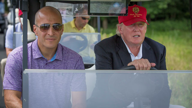 The PGA has not severed ties with Donald Trump despite concerns about his rhetoric.