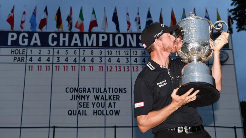 Jimmy Walker is the fourth first-time major winner in 2016.