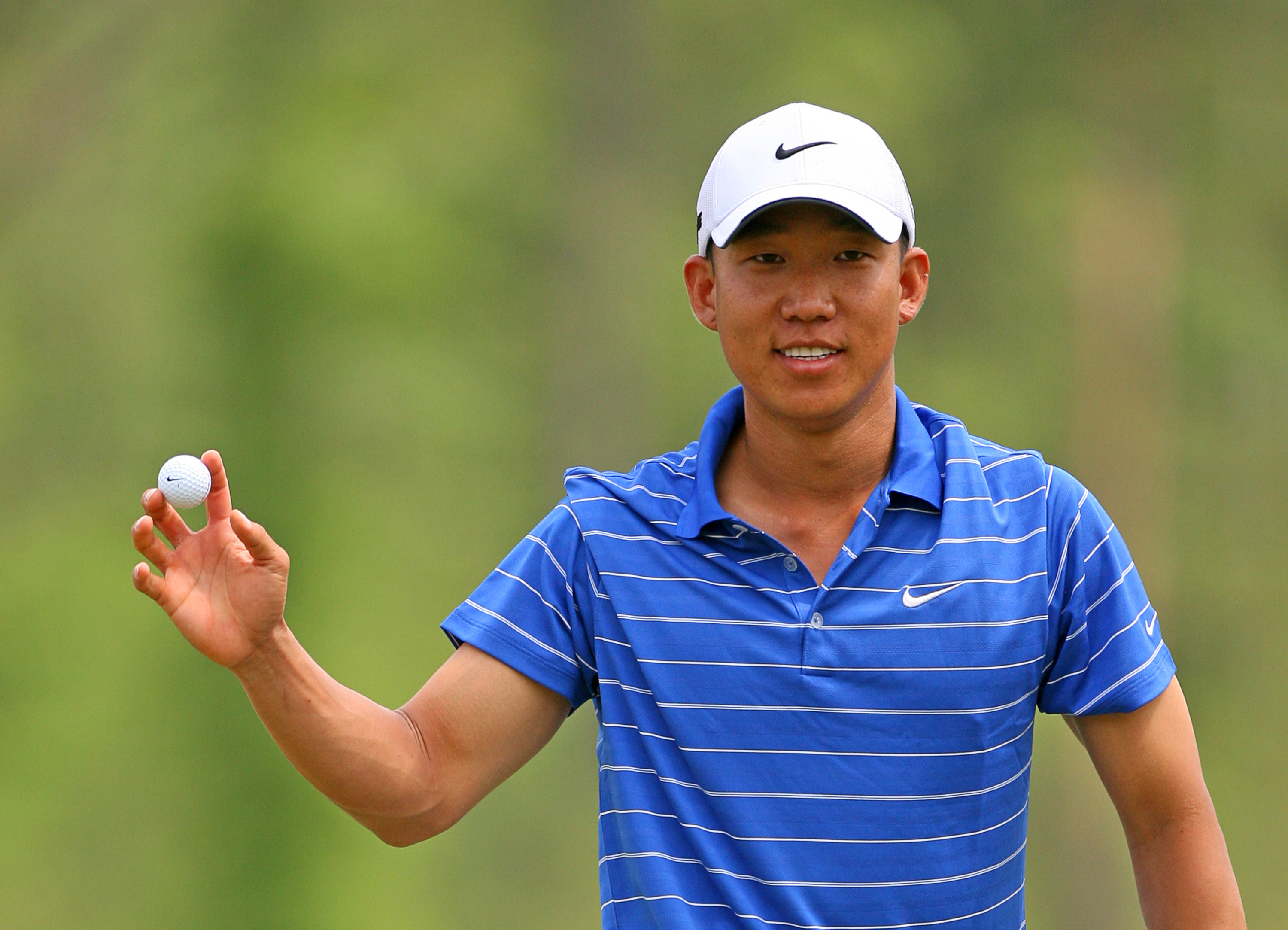 Anthony Kim joins the Nike family in 2006.