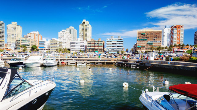 Punta del Este harbors the high life—and more.