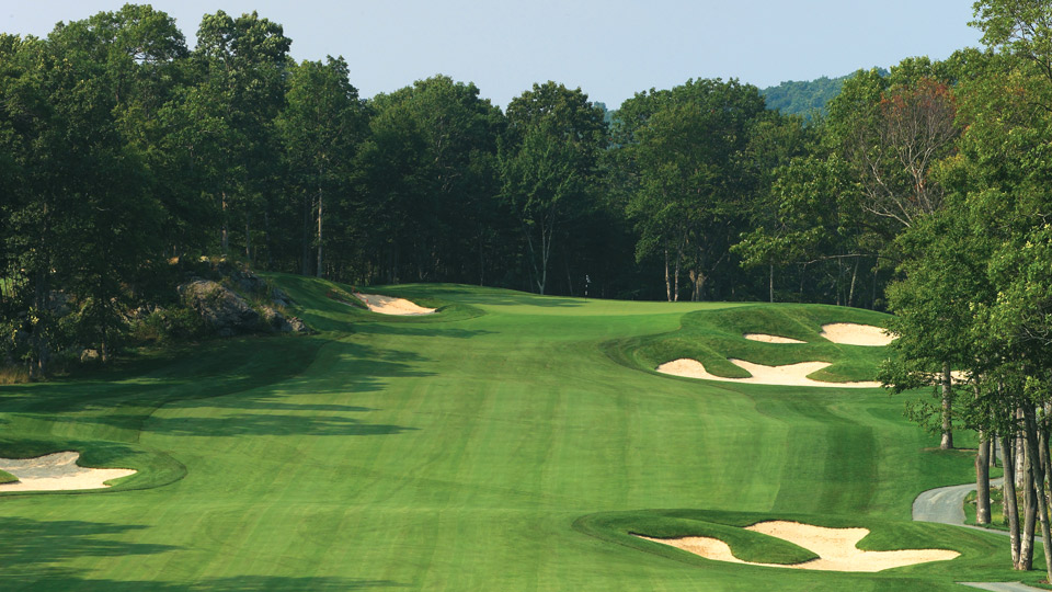 Lake of Isles North Course in North Stonington, CT.
