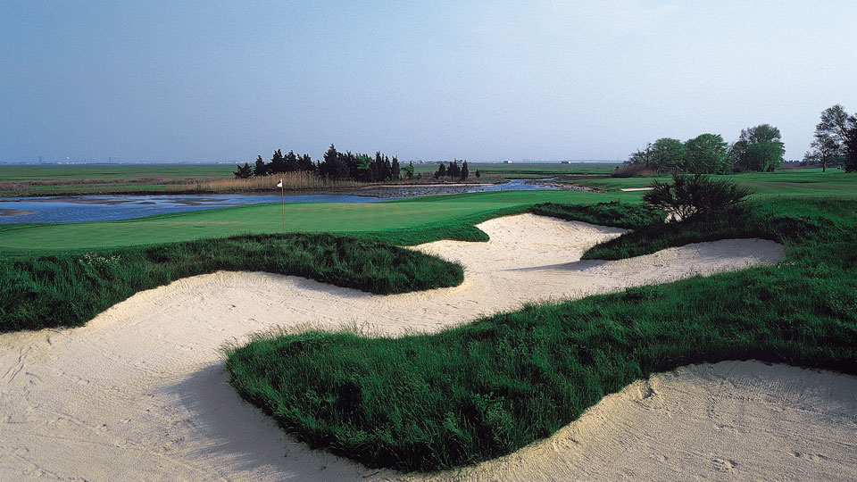 Atlantic City Country Club's layout dates back 110 years but was recently renovated by architect Tom Doak.