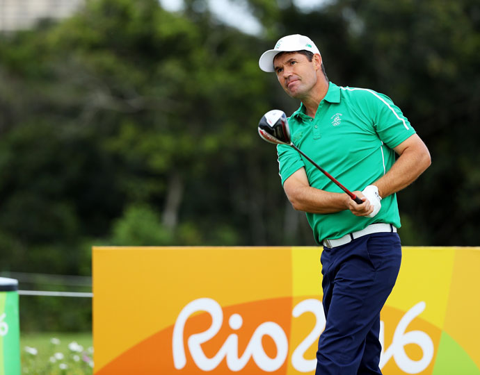 Ireland's Padraig Harrington