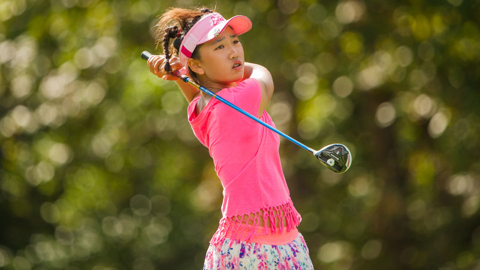 Lucy Li holds the record as the youngest qualifier for the U.S. Women's Amateur and the U.S. Women's Open.