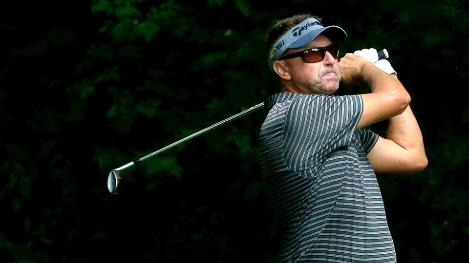 Robert Allenby missed the cut at the John Deere Classic and was arrested early Saturday morning outside of a casino.