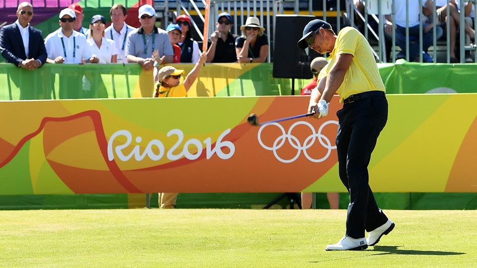 Henrik Stenson battled Justin Rose but came up short of a gold, earning a silver for Sweden.