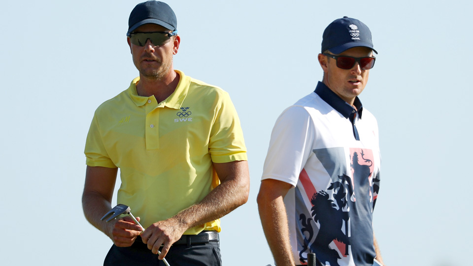Henrik Stenson and Justin Rose battled all day Sunday in Rio, and both are leaving with medals.