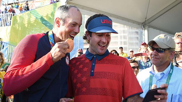 Is the bronze medal Matt Kuchar's greatest accomplishment?