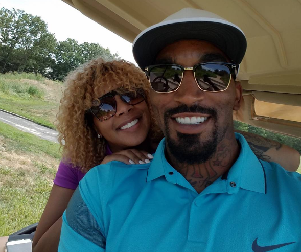 When he isn't hooping on the hardwood, J.R. Smith can be found competing somewhere on a fairway.
