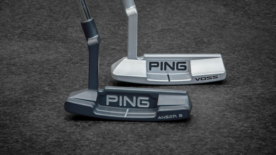 The new Ping Anser 2 and Voss putters from the Vault series.