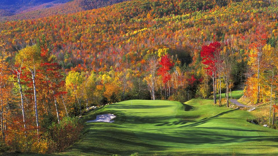 Sunday River Golf Club was designed by Robert Trent Jones Jr.