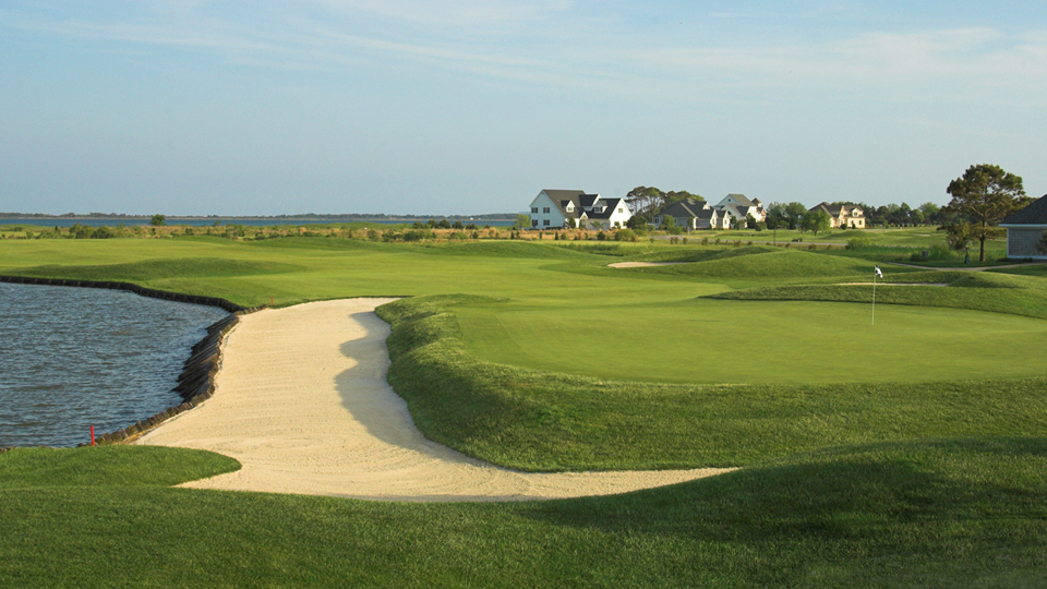 The 18th at Rum Pointe in Berlin, Maryland.