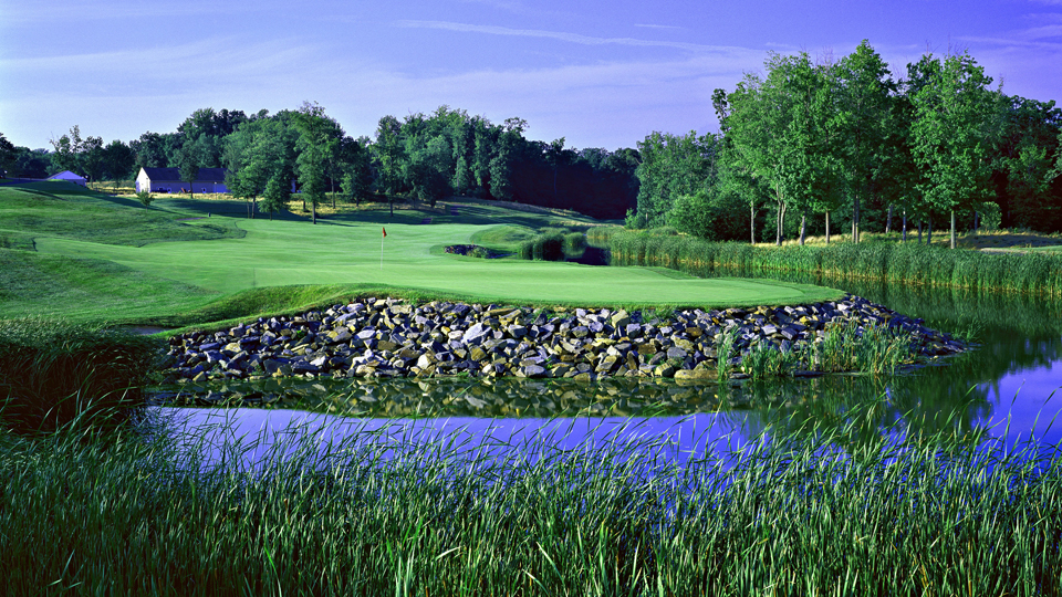 The 18th at Bulle Rock in Havre de Grace, Maryland.