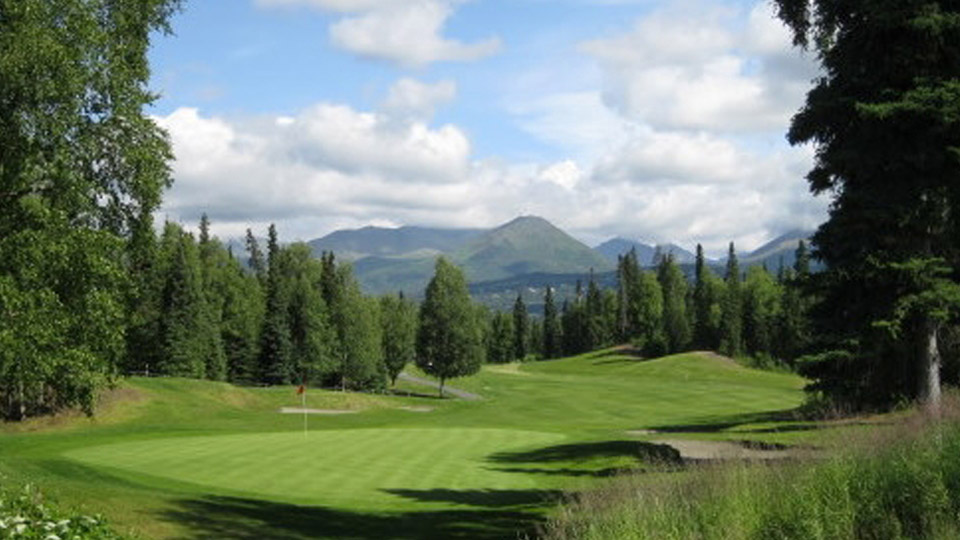 Anchorage Golf Course comes in as the second-ranked public course in Alaska.