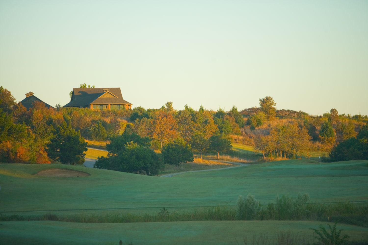 Chickasaw Pointe Golf Club is located in Kingston, Oklahoma