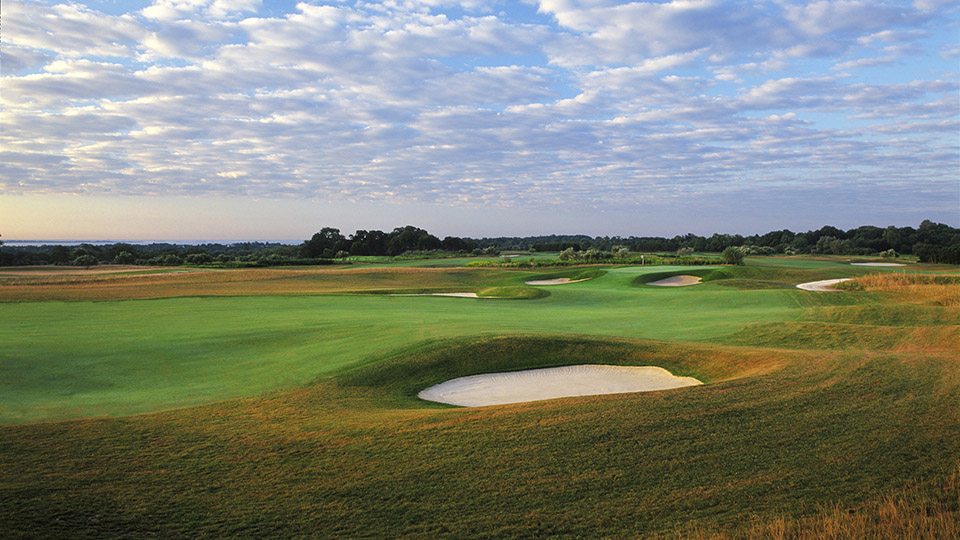 Newport National's Orchard course, hole No. 5.