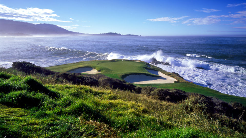 Some holes need no introduction, like the iconic oceanside par-3 seventh at Pebble Beach.