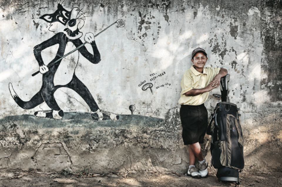 The game has inspired local kids (like Anderson Nunes, pictured) and local graffiti artists, too.