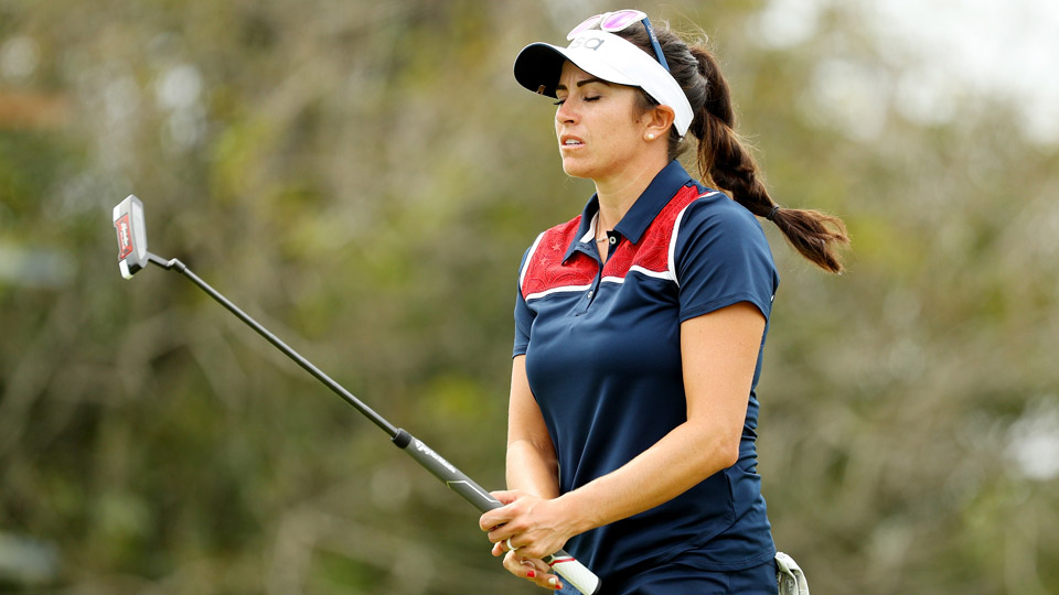 American Gerina Piller missed the podium after shooting 74 in the final round.