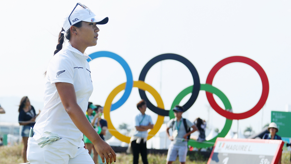 Lydia Ko left Rio with a silver medal after Inbee Park pulled away from the field.