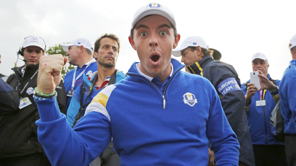 Rory McIlroy and the European Ryder Cup team have a title to defend at Hazeltine.