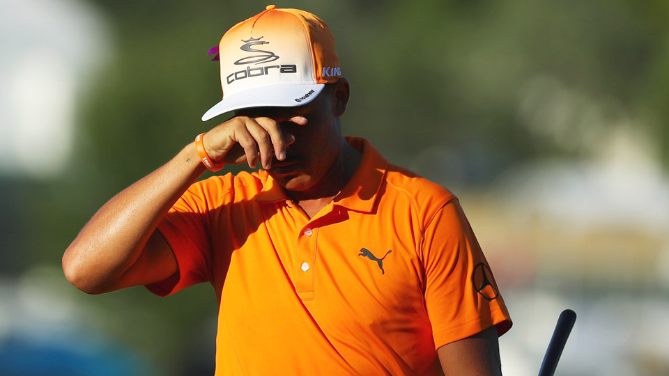 Rickie Fowler had a chance to lock up a Ryder Cup spot, but he struggled on the back nine at Bethpage Black and fell short.