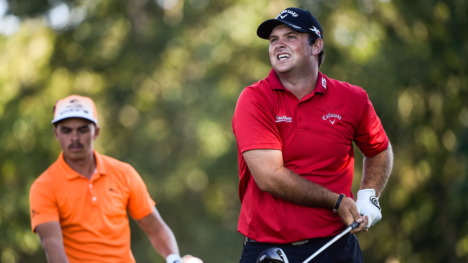 Patrick Reed during the final round of the 2016 Barclays.