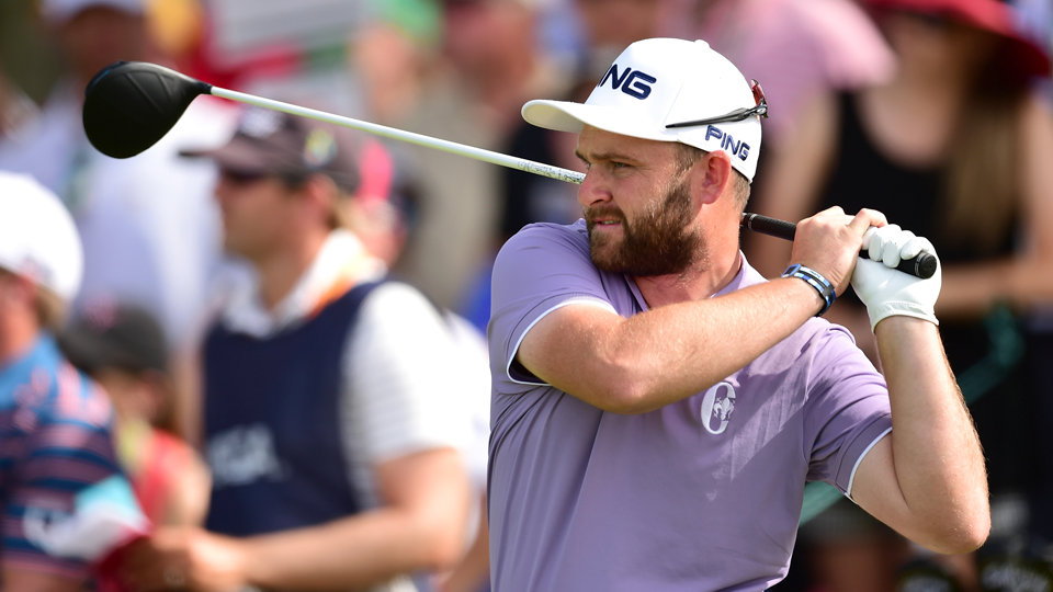 Andy Sullivan makes his Ryder Cup debut at Hazeltine.