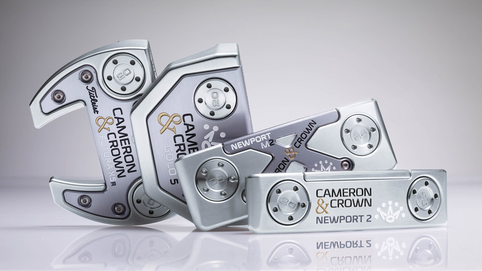 Scotty Cameron Cameron & Crown Putters