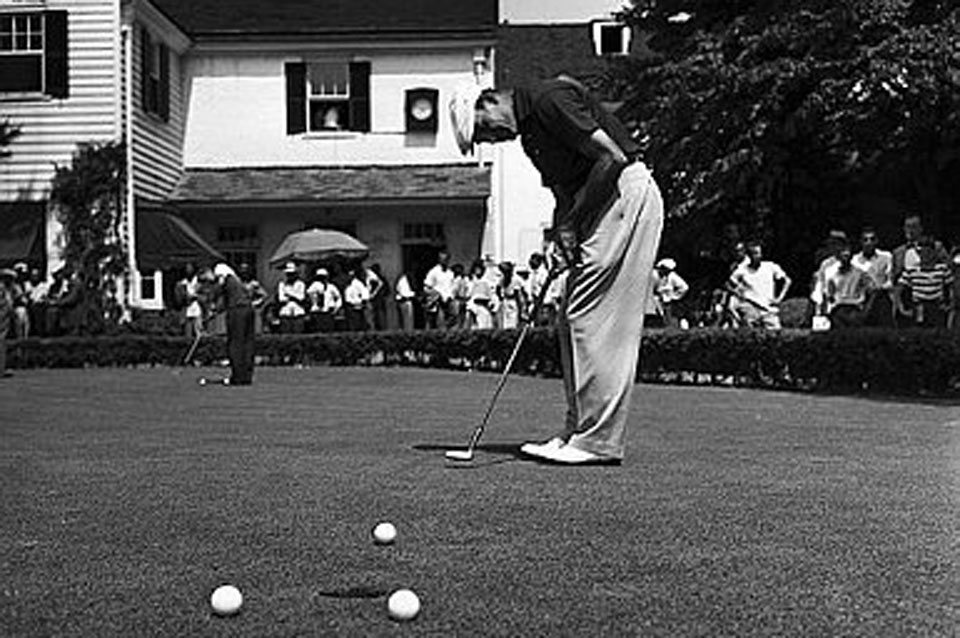 Hogan prevailed in 1950 at Merion in an 18-hole playoff.