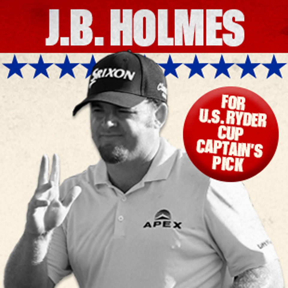 Does J.B. Holmes deserve a Ryder Cup spot?