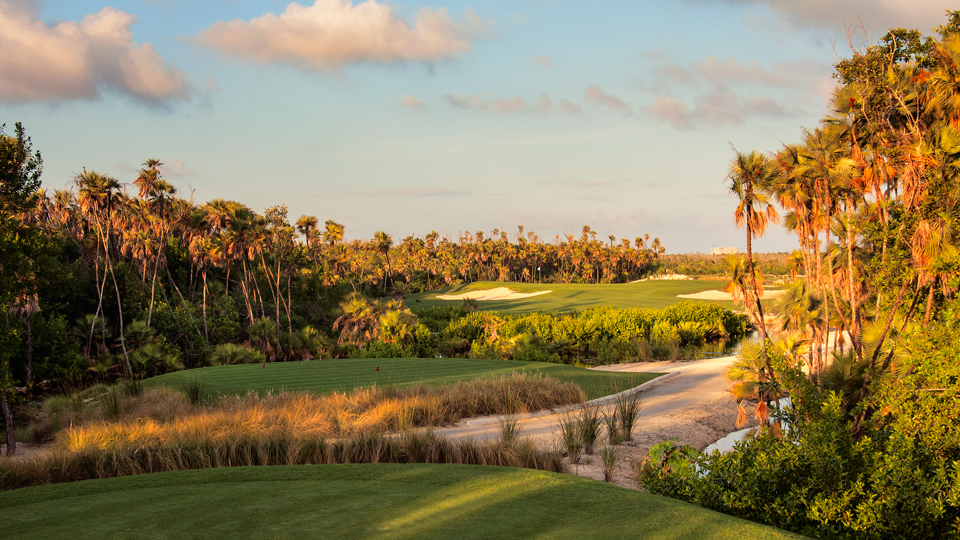 Hole No. 12 at Riviera Cancun Golf Club in Quintana Roo, Mexico.