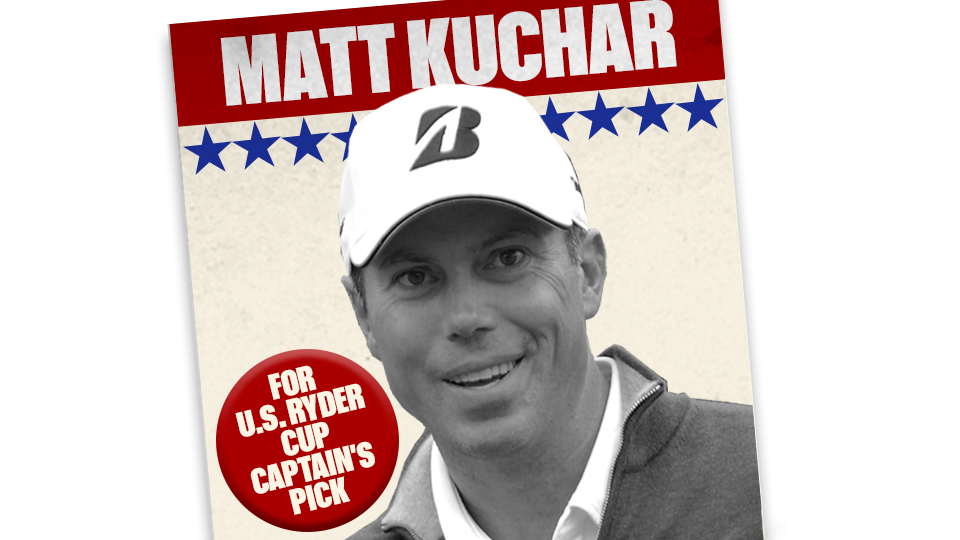 Matt Kuchar has qualified for three Ryder Cups on his own, but he needs a captain's pick to make a fourth.