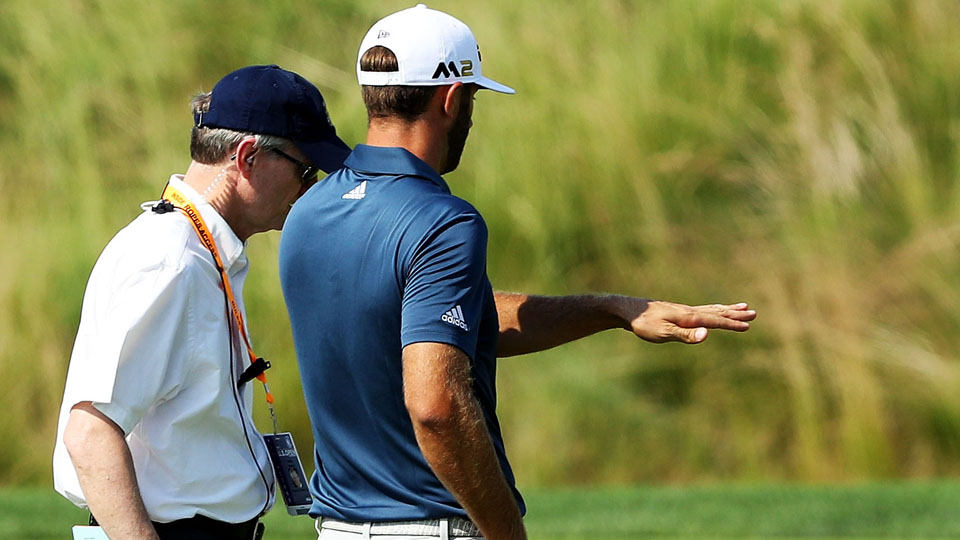 Dustin Johnson, despite a rules controversy during his final round, still won the U.S. Open.