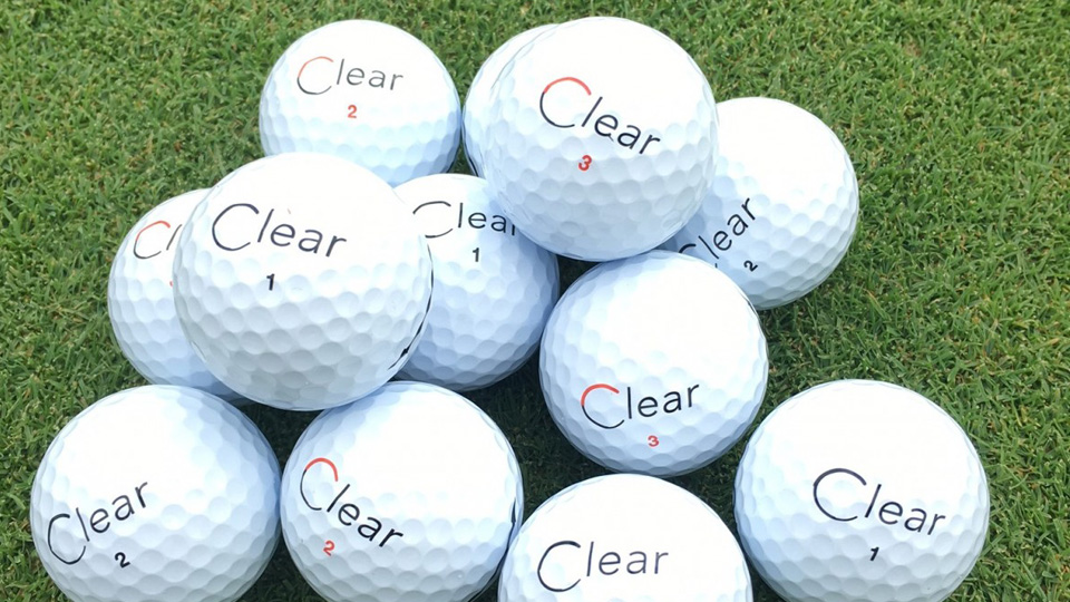 These golf balls by Clear may be the most exclusive balls on the market (if you can find them).