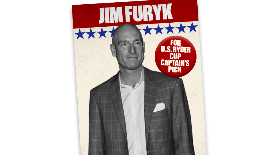 Should Jim Furyk get another Ryder Cup bid despite a sub-par record in the event?