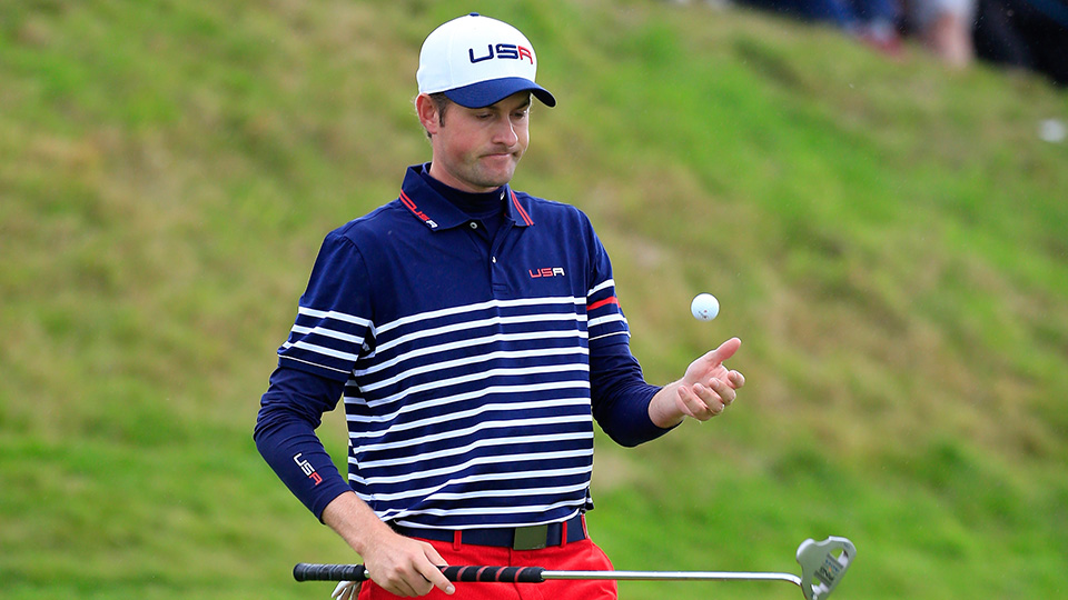 The final U.S. captain's pick of 2014 went to Webb Simpson (after, according to Tom Watson, a brief text message exchange the night before the selection). Simpson played just twice, in Friday fourballs and Sunday singles, and didn't win either.