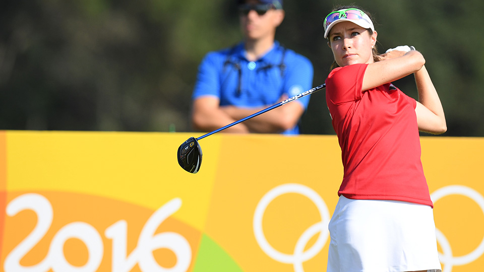 Alejandra Llaneza represented Mexico at the Rio 2016 Olympic Games. She finished T44.