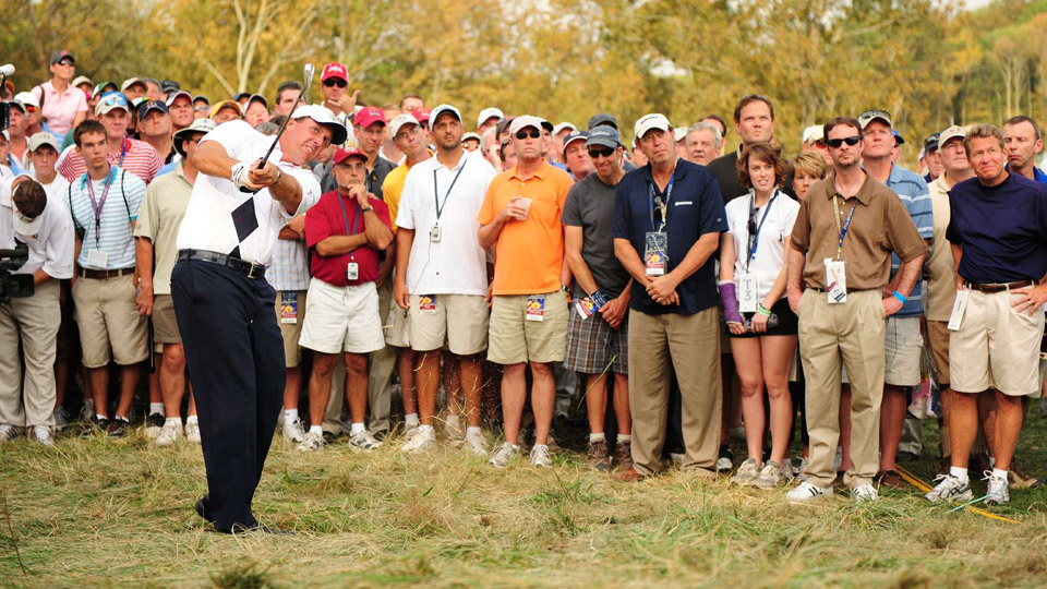 Phil Mickelson is bound to be a Ryder Cup captain in the future.