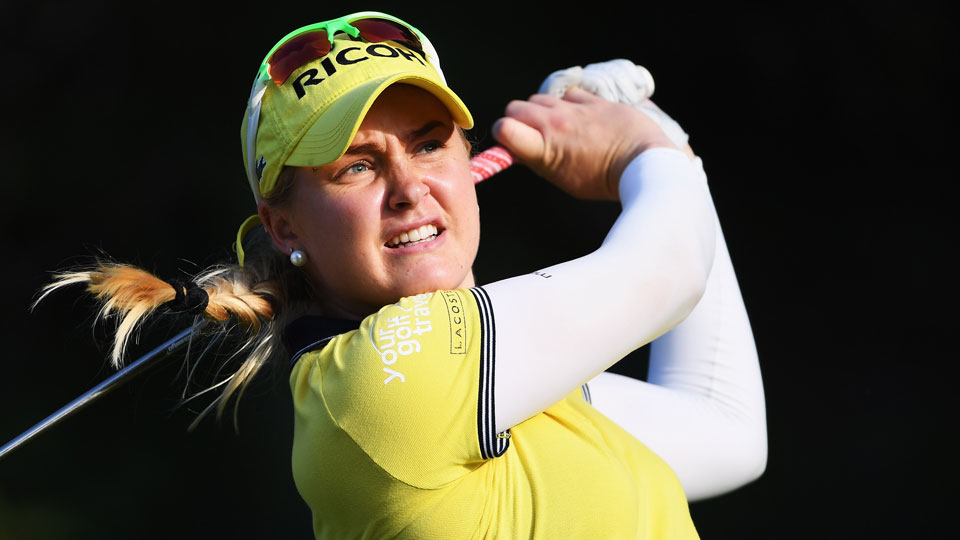 Charley Hull of England was the Ladies European Tour Rookie of the Year in 2013.