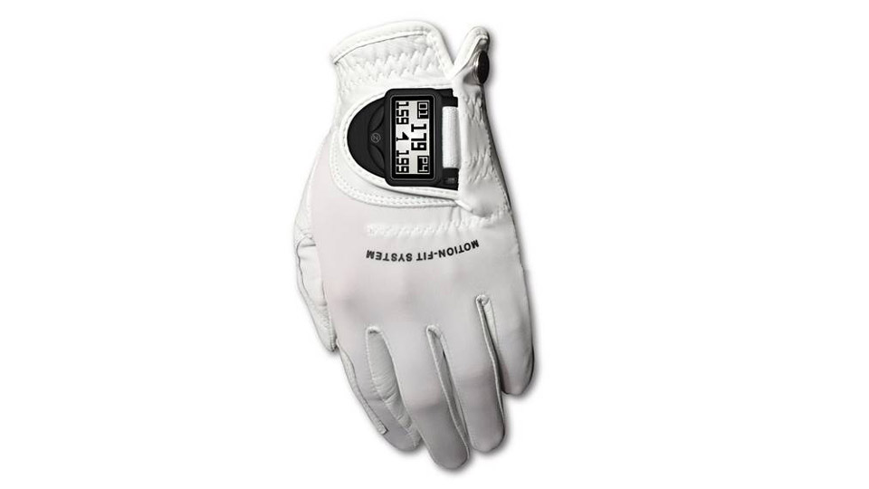The new DistancePro GPS golf glove from Zero Friction.