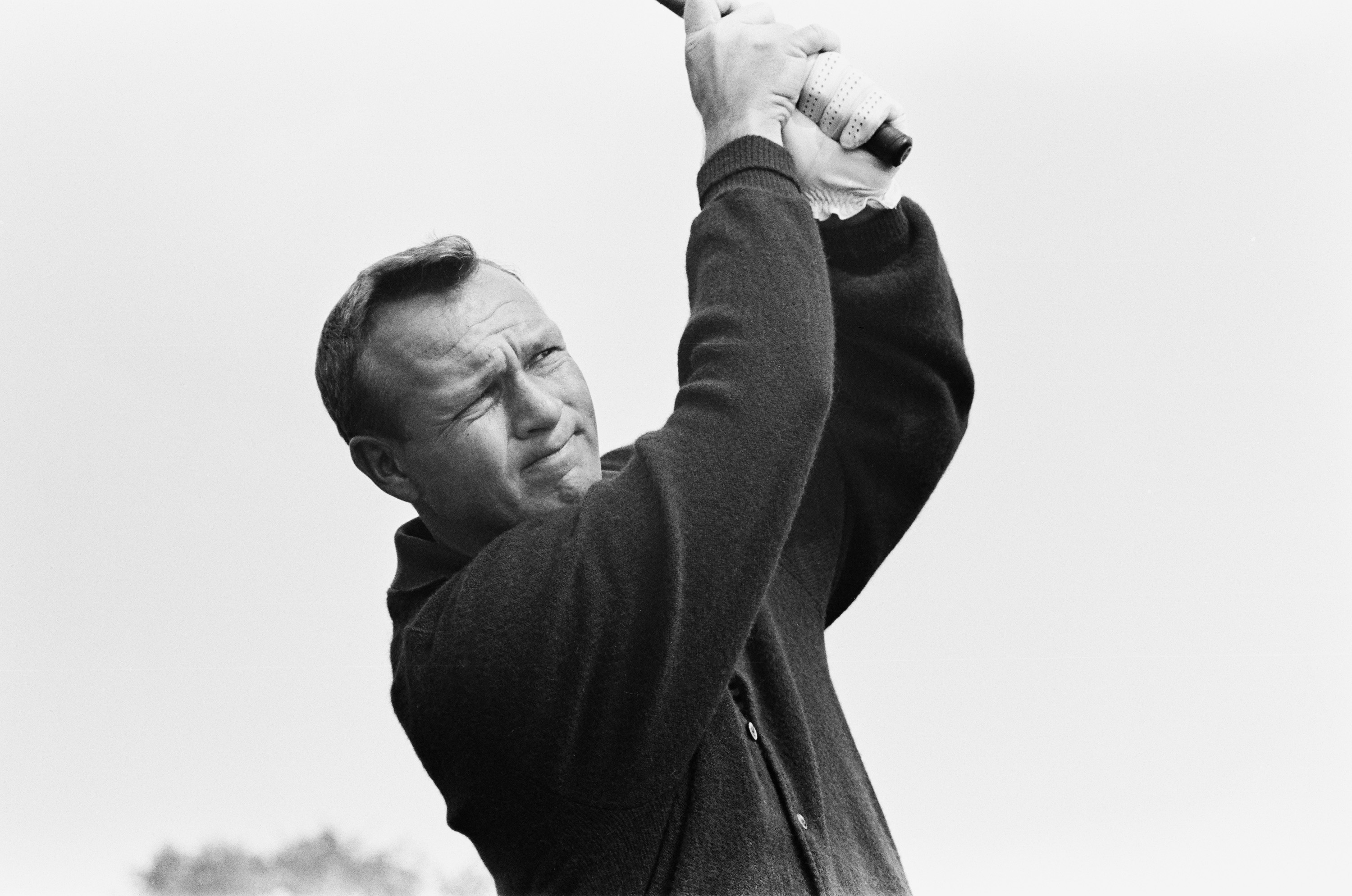 In 1963 Arnold Palmer becomes the last playing captain in Ryder Cup history.
