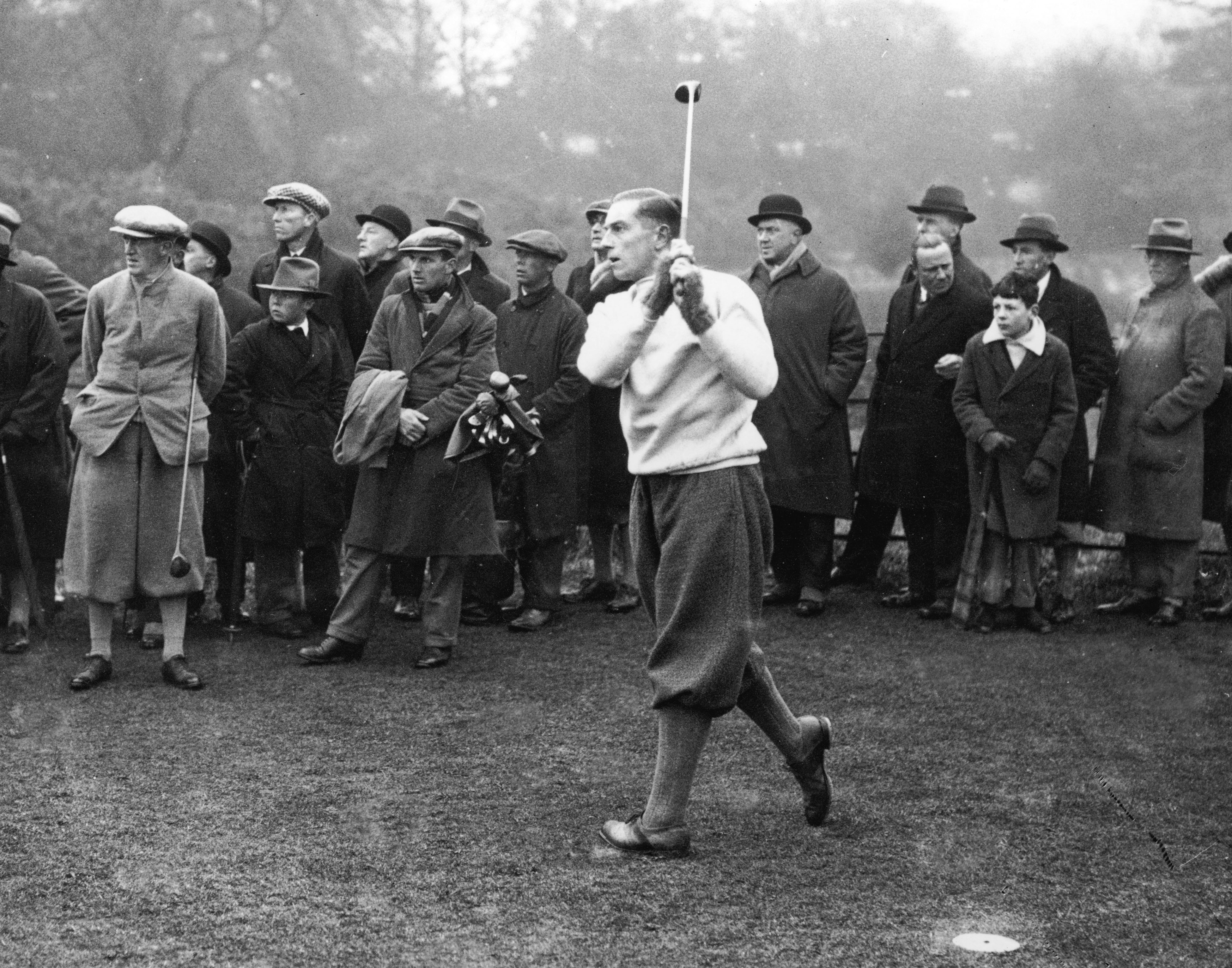 The Ryder Cup was postponed due to WWII from 1937-1947.