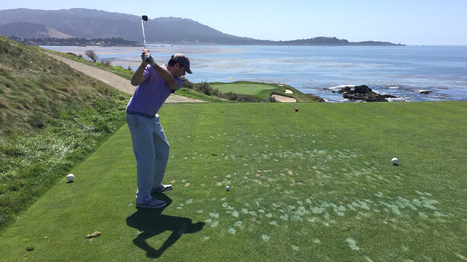Sports Illustrated's Alan Shipnuck played in the First Tee Open at Pebble Beach, but he struggled to process the pressure of the big stage.