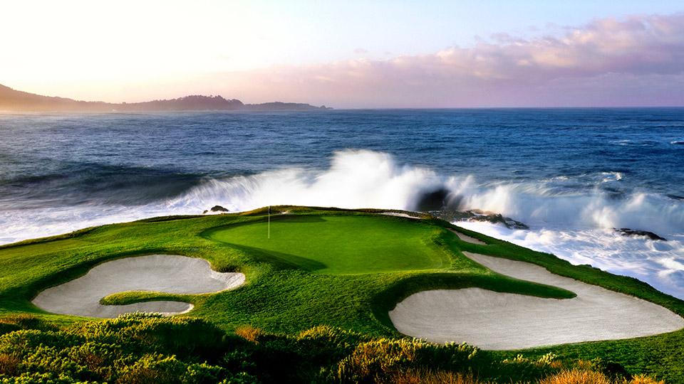 Pebble Beach Golf Club Layout