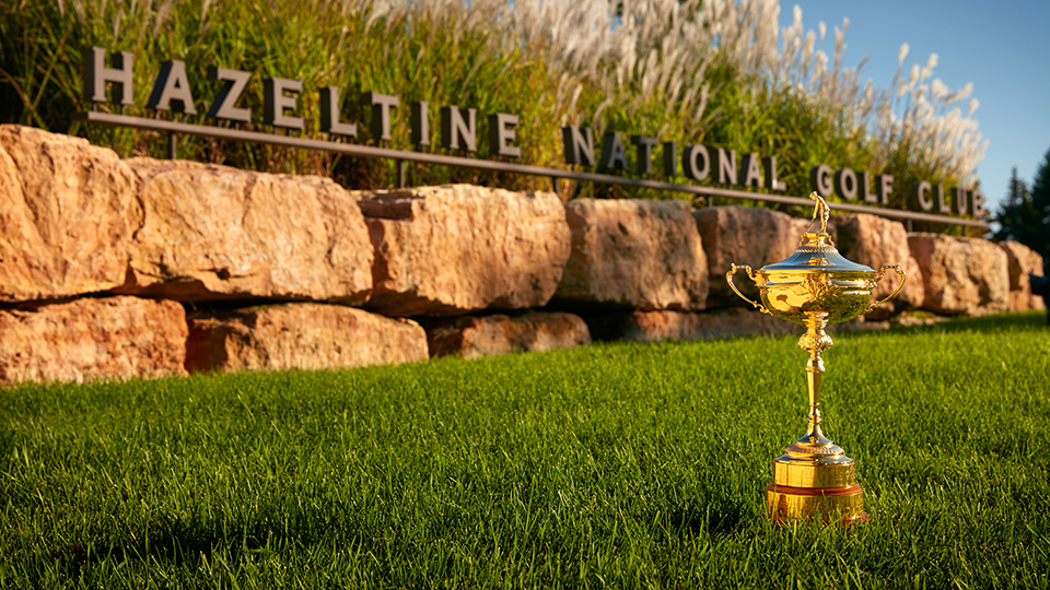 The Ryder Cup heads to Hazeltine National Golf Club in Chaska, MN, September 30 - October 2, 2016.