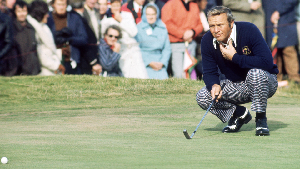 Arnold Palmer owned a 22-8-2 record in the Ryder Cup.